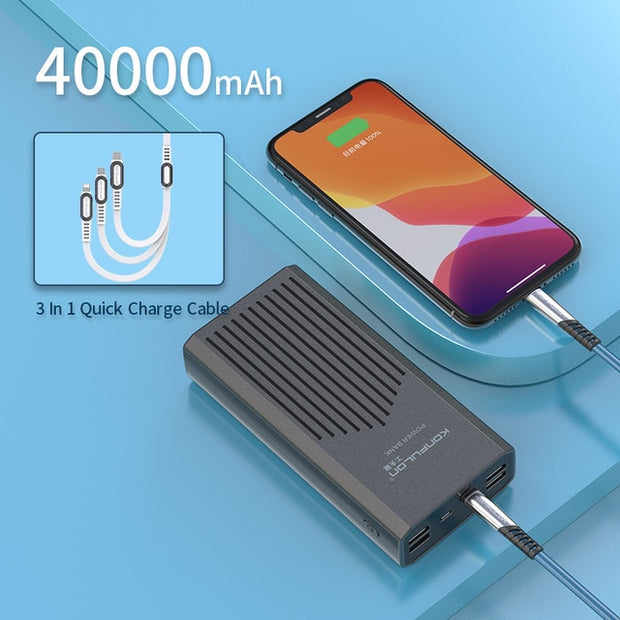 Two-Way Quick Charge Power Bank