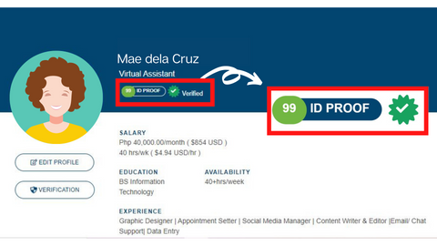 Onlinejobs.ph ID Proof