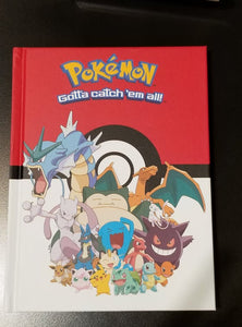 Pokemon Character Hardcover Journal