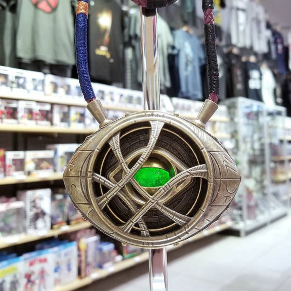 Eye of Agamotto Full-Scale Lighted Metal Replica Amulet