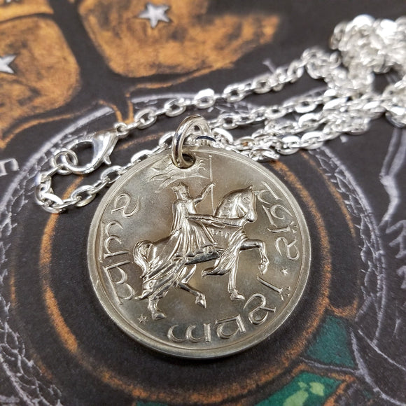 Gondor Crown: Coin of Gondor Aragorn's Coronation Pendant