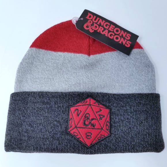 Dungeons and Dragons Roll Dice Beanie Hat by Bioworld Merch