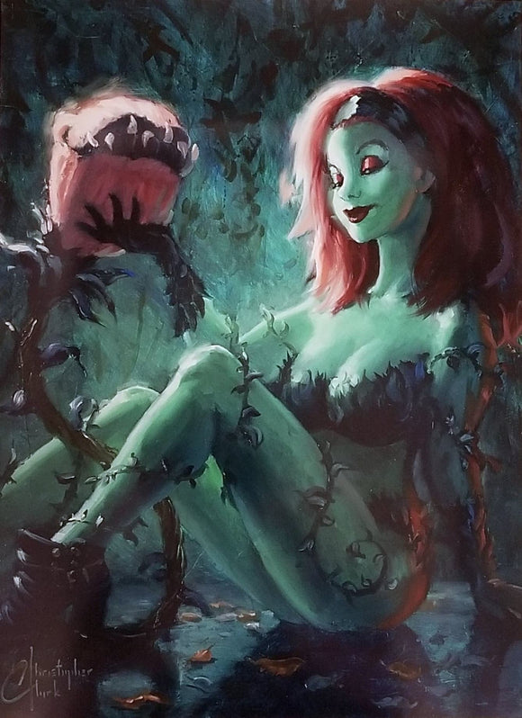 Poison Ivy Art Print by Christopher Clark
