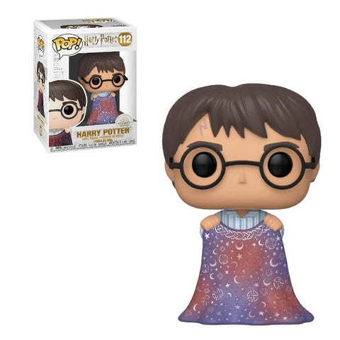 Harry Potter with Invisibility Cloak Funko Pop!