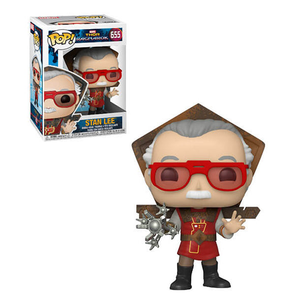 Stan Lee (Thor: Ragnorak Outfit) Pop! Icons Marvel Funko Pop