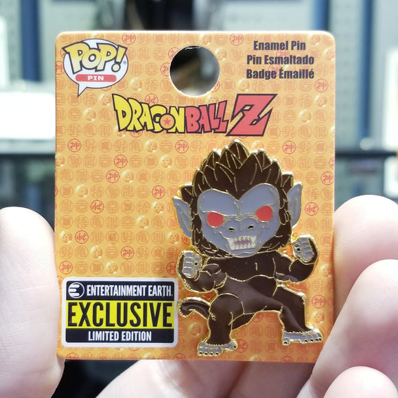 Great Ape Goku Funko Pop! Pin by Loungefly EE Convention Exclusive
