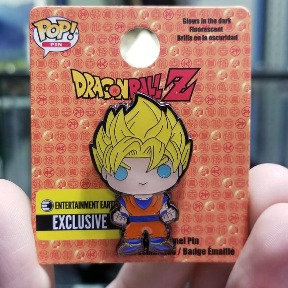 SS Goku Funko Pop! Pin by Loungefly EE Convention Exclusive