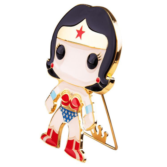 Wonder Woman Funko Pop! Large Enamel Pin