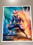 Todoroki Art Print by Dominic Glover