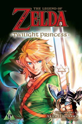 Zelda Twilight Princess Manga Vol. 5