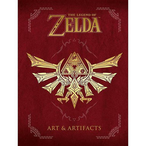 The Legend of Zelda: Art & Artifacts Hardcover Book