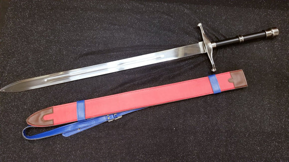 Trunks' Sword steel prop replica with sheath  — as wielded by Future Trunks in the Dragon Ball anime series, first featured in Dragon Ball Super.