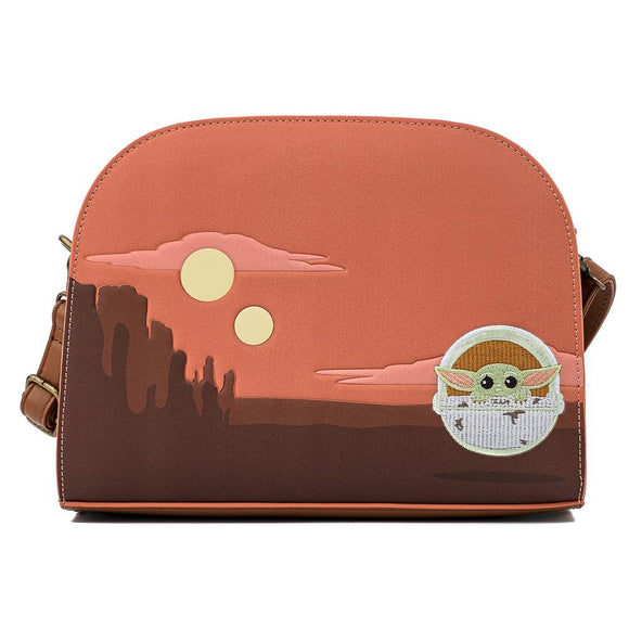 Grogu Baby Yoda Crossbody Bag by Loungefly