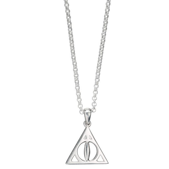 Deathly Hallows Necklace in Sterling Silver