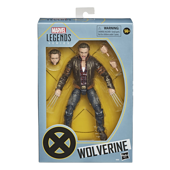 After he was Weapon X, before he moved in with Xavier, he was X-Men Movie Marvel Legends Wolverine 6-Inch Action Figure! With a gobsmackingly good likeness of Hugh Jackman. The hair, the claws, the glare, the jaws, everything you love about this sharp mutant is here with amazingly good articulation. Celebrate the 20th anniversary of the original X-Men movie - and all of its sequels, while you're at it - with this awesome action figure!  6- inch action figure includes alternate hands and portrait.