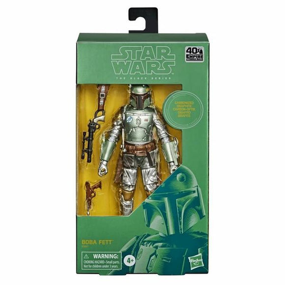 Carbonized Boba Fett Star Wars The Black Series 6 Inch figure