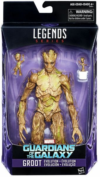 Groot Evolution Set Marvel Legends