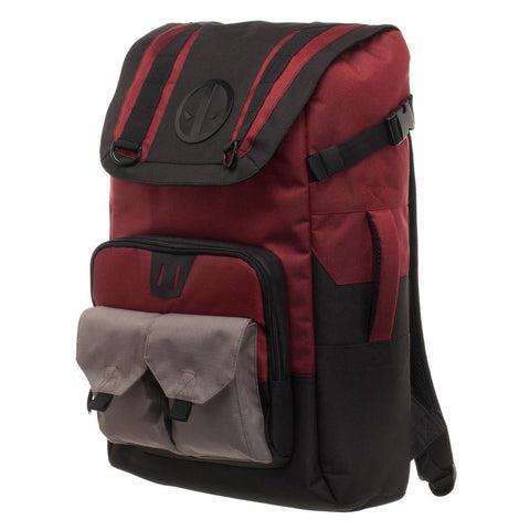 Deadpool Black and Red Backpack