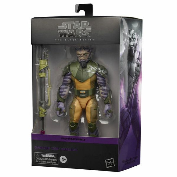 Star Wars Zeb Orrelios The Black Series Collection Rebels Wave Figure