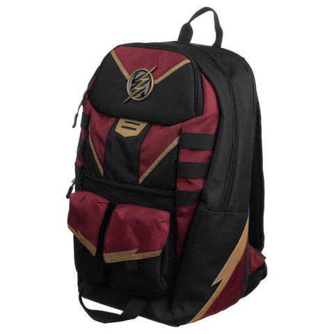 Flash Black and Maroon Backpack