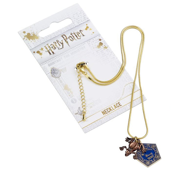 Harry Potter Honeydukes Chocolate Frog Charm Necklace