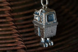 Gonk Droid Sterling Silver Necklace by RockLove
