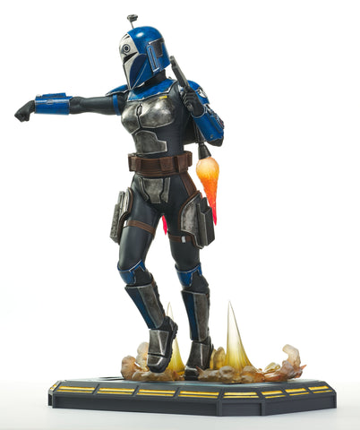 *Pre-Order* Bo Katan Clone Wars 1/7th Scale Statue by Gentle Giant