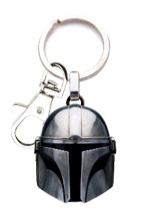 The Mandalorian Helmet Metal Keychain from Star Wars: The Mandalorian