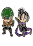 Mumen Rider & Sonic One Punch Man Pin 2 Pack