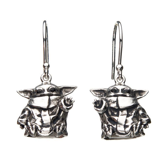 The Child (Baby Yoda) Sterling Silver Earrings by RockLove