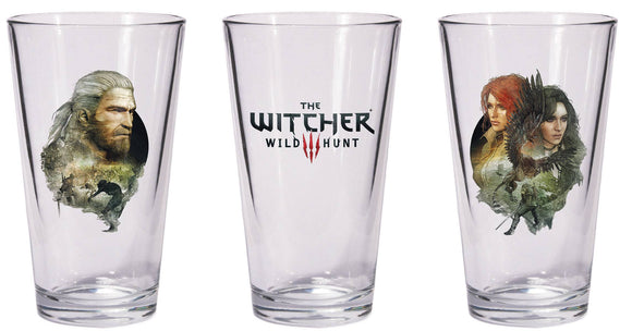 Witcher Pint Glasses 2 Pack