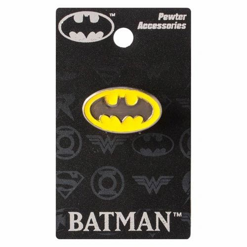 Batman Colored Pewter Lapel Pin