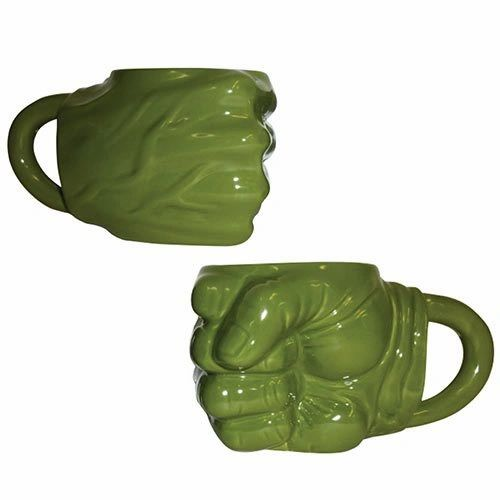 Hulk Fist Sculpted Mug