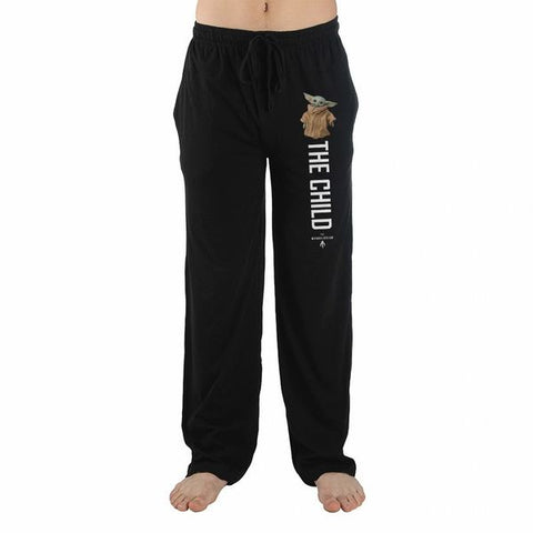 The Child (Baby Yoda) Black Unisex Lounge Pants