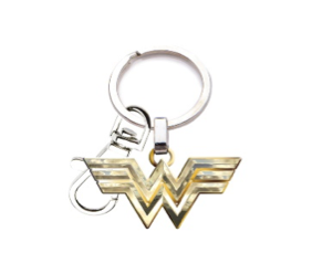 Wonder Woman 1984 Logo Keychain