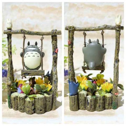 My Neighbor Totoro Garden Swing Studio Ghibli Mini Statue