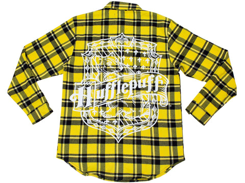 Hufflepuff Flannel by Cakeworthy