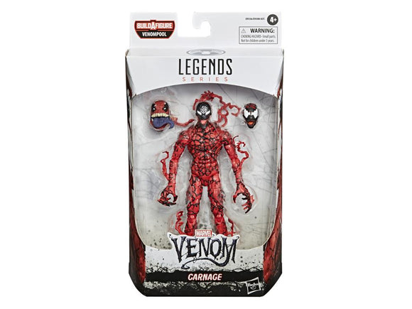 Carnage Venom Marvel Legends Venompool BAF Figure