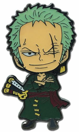 Fishman Island Zoro Metal Pin