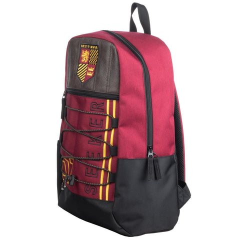 Harry Potter Quidditch Gryffindor Seeker Bungee Backpack