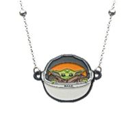 Baby Yoda in Pod Necklace