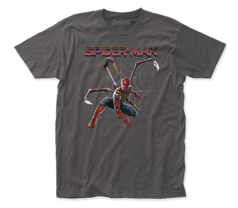 Iron Spider Grey Unisex Shirt