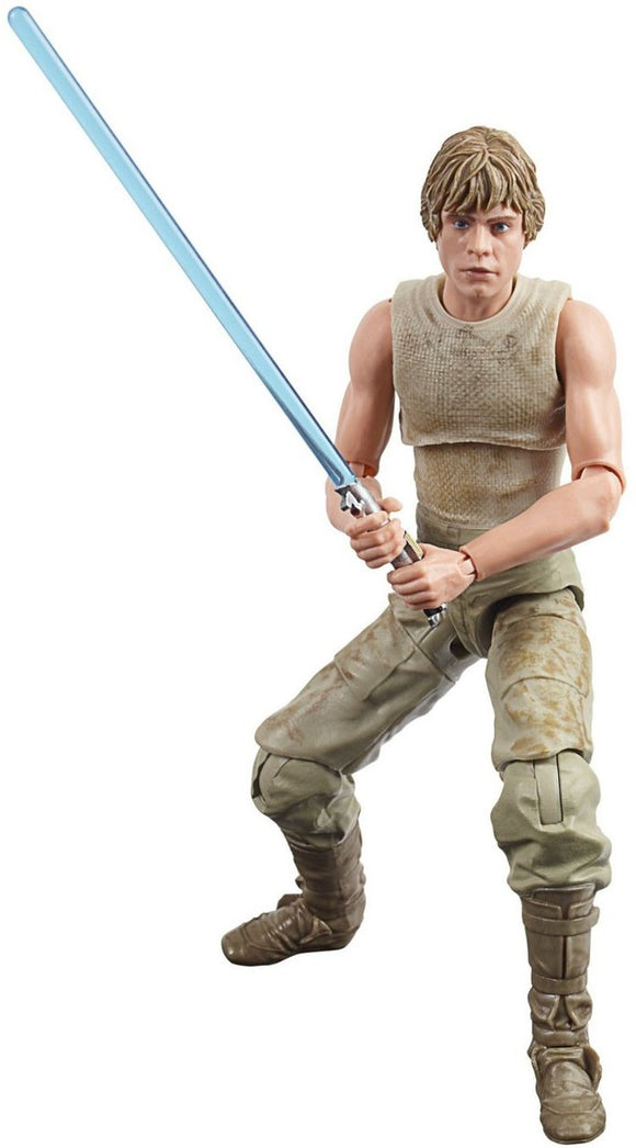 Luke Skywalker Dagobah Star Wars Black Series  6 Inch Figure from The Empire Strikes Back 40th Anniversary Wave 3