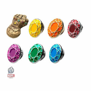 Infinity Stones Pin Set w/ Gauntlet