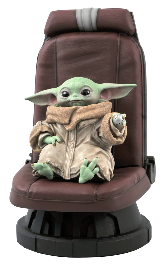 The Mandalorian The Child (Baby Yoda) in Chair 1/2 Scale Statue