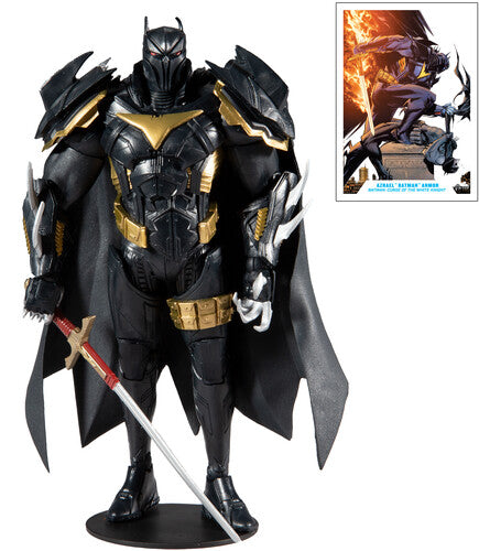 Azrael Batman Armor Curse of the White Knight DC Multiverse Mcfarlane Figure