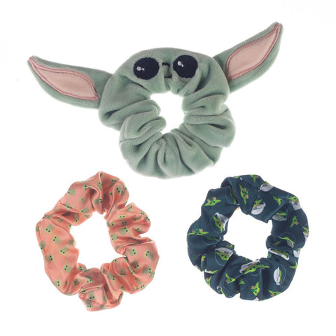 The Child Baby Yoda Scrunchies 3 Pack