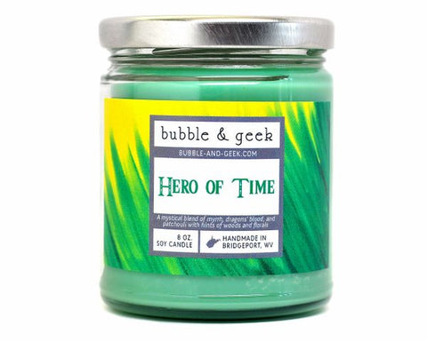 Hero of Time Candle Jar