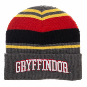 Gryffindor House Striped Beanie