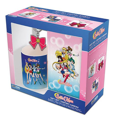 Sailor Moon Mug, Journal, and Keychain Gift Set